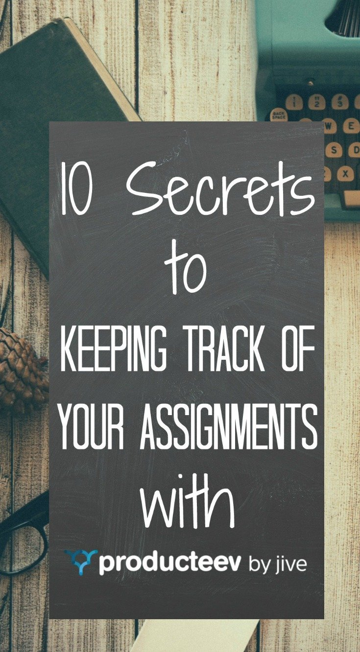 10 Secrets to Keeping Track of Assignments