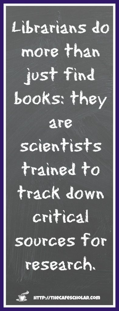 Librarians are trained scientists!