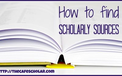 How to Find Scholarly Sources for Research Papers