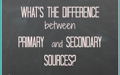 What is the Difference Between a Primary Source and a Secondary Source?