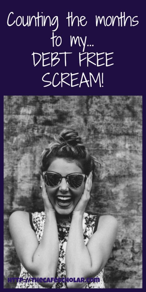 "I love listening to all the ""debt-free screams!"" on the Dave Ramsey Show! I can't wait till I get to do my own debt free scream! 