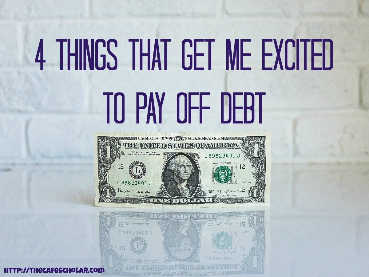 Paying off debt is crazy hard work...it always helps to have some inspiration to stay motivated! | http://thecafescholar.com
