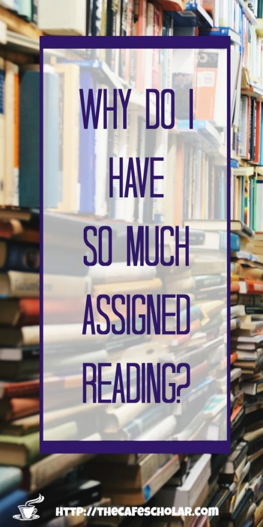 If we only learn 10% of what we read, why do we have so much assigned reading? Learn how to conquer your assigned reading, even if you don't like to read. | https://thecafescholar.com