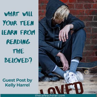 Cover of The Beloved by Kelly Harrel. Boy sitting on a skateboard. What will your teen learn from reading The Beloved?